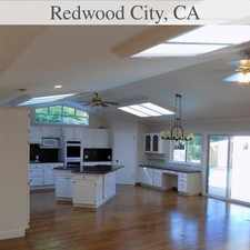 Rental info for House For Rent In WOODSIDE. in the Redwood City area