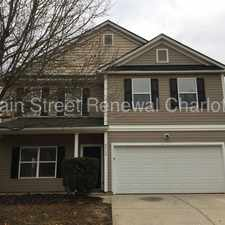 Rental info for Spacious Home In Charlotte in the Charlotte area