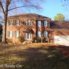 Rental info for 6807 Rea Croft Dr in the Charlotte area