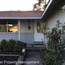 Rental info for 2655 Shamrock Drive in the Pinole area
