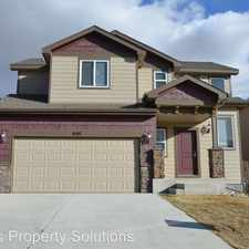 Rental info for 6161 Wood Bison Tr. in the Fountain area