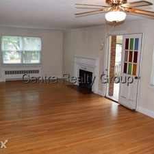 Rental info for Centre Realty Group in the Newtonville area