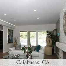Rental info for 3 Bedrooms House - Welcome Home To This Sophist... in the Calabasas area