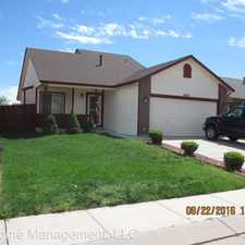 Rental info for 4819 Expedition Drive in the Security-Widefield area