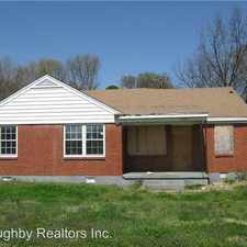Rental info for 3162 Highland Park Pl in the Memphis area