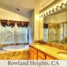 Rental info for Rowland Heights - Must See To Believe. Washer/D... in the Rowland Heights area