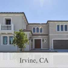 Rental info for Irvine Is The Place To Be! Come Home Today! in the Irvine area