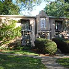 Rental info for Immaculate 2 Bed/1 Bath Condo in The Grove in Elizabeth in the Charlotte area