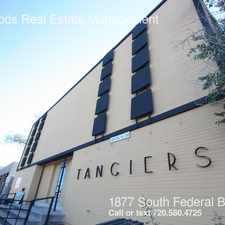 Rental info for 1877 South Federal Blvd in the Denver area