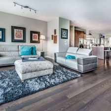 Rental info for 118 Athletes Way in the Downtown area