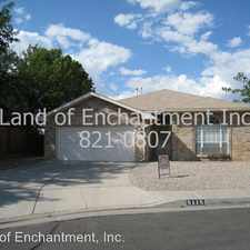 Rental info for 5115 Montano Pointe Pl. NW in the Taylor Ranch area