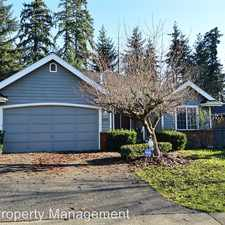 Rental info for 36918 17th Ave S