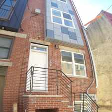 Rental info for 1724 Monument Street Unit A in the Philadelphia area