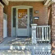 Rental info for 519 Donlands Avenue in the Broadview North area