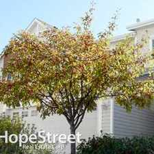 Rental info for 110 Hidden Creek Gardens NW - 3 Bedroom Townhome for Rent