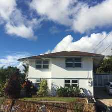 Rental info for Peter Street in the Manoa area