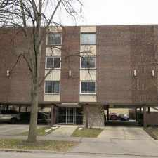 Rental info for OAK PARK WALK TO DOWNTOWN EVERYTHING ACROSS FROM MILLS PARK~TOP FLOOR~ELEVATOR~PARKING!
