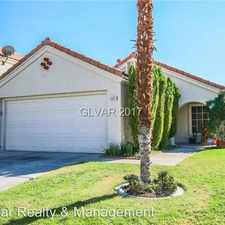 Rental info for 8901 Clear Blue Drive in the West Sahara area
