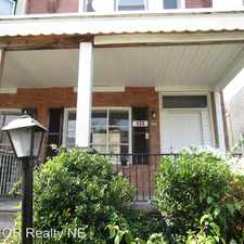 Rental info for 133 Mayland St. in the Germantown area