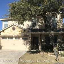Rental info for 23119 Cardigan Chase in the San Antonio area