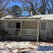 Rental info for 965 Margaret Pl NW in the Grove Park area