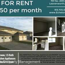 Rental info for 701-707 S. 20th St