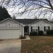 Rental info for 5840 Brookstone Drive Northwest in the Charlotte area