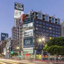 Rental info for 1600 VINE in the Los Angeles area