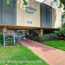 Rental info for 1115 Cordova St Unit # 208 in the South Lake area