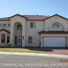 Rental info for 6052 Via Serena in the Chaparral Park North area