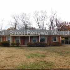 Rental info for 5819 Fox Lair Avenue in the Memphis area