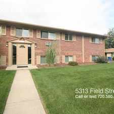 Rental info for 5313 Field Street in the Arvada area