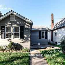 Rental info for 3933 Walsh in the Boulevard Heights area