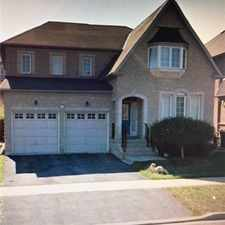 Rental info for 4948 Huron Heights Drive in the Brampton area