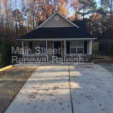 Rental info for Charming home is ready for move-in! in the Durham area
