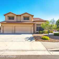 Rental info for 4433 E Desert Sands Dr