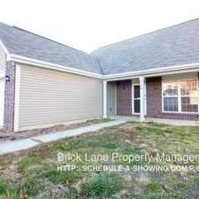 Rental info for 7552 Pipestone Drive in the Indianapolis area