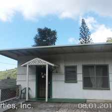 Rental info for 2488 Waiomao Road in the Palolo area