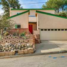 Rental info for 4329 El Prieto Road in the 91001 area