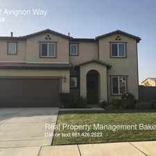 Rental info for 10442 Avignon Way in the Bakersfield area
