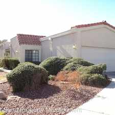 Rental info for 8625 Journal Ct. in the West Sahara area