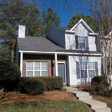 Rental info for 5801 Cougar Lane in the Charlotte area