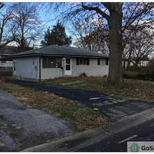 Rental info for Wonderful 3 bed home on quiet street in the St. Louis area