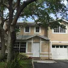 Rental info for SW 121st Terrace in the Cooper City area