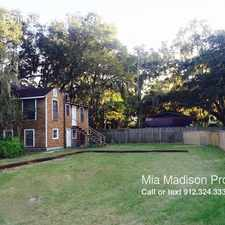 Rental info for 2403-B Bolling Street in the Savannah area