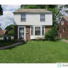 Rental info for Stunning Colonial on Lindsay in the Detroit area