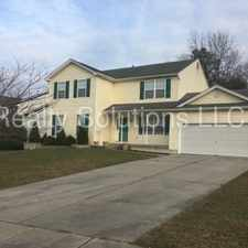 Rental info for Beautiful home for rent in Monroe Township!