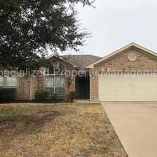 Rental info for 619 Coal Creek, Mansfield, TX 76063 in the Fort Worth area
