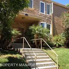 Rental info for 5510 ADELAIDE AVENUE, UNIT #5 in the San Diego area