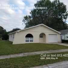 Rental info for 6881 59th Way N in the 33781 area